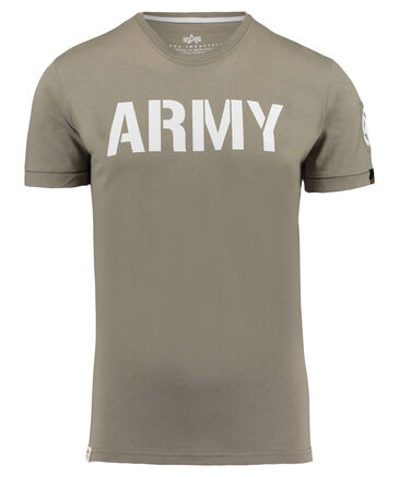 "Alpha Industries - Herren T-Shirt ""Army"""