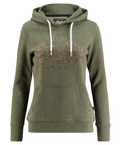 "Damen Sweatshirt ""Vintage Logo Rhinestone Mix Entry Hood"" mit Kapuze"