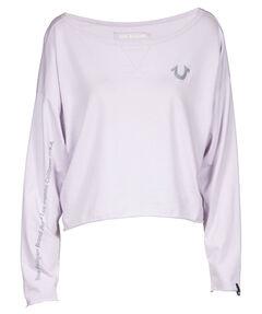 """Damen Sweatshirt """"Horse Shoe Lavendar"""""""