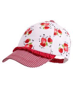 """Mädchen Kleinkind Schildmütze """"Erdbeere"""""""