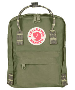 "Rucksack ""Kanken Mini"" green-folk pattern"