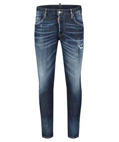 "Herren Jeans ""Skater Blue Denim"" Skinny Fit"