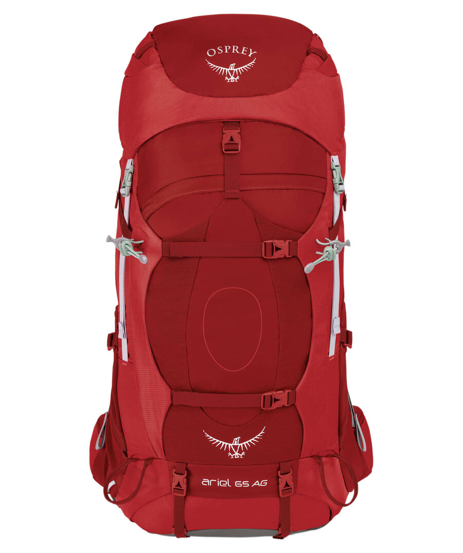 "Osprey Damen Trekkingrucksack ""Ariel AG 65"", wine, Gr. S"