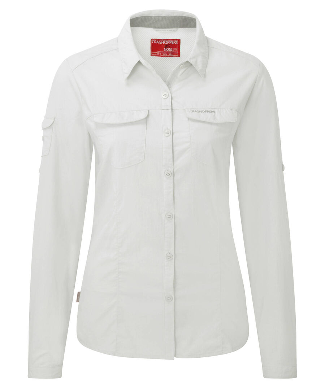 "Craghoppers Damen Funktionsbluse / Outdoor-Bluse ""Nosilife Adventure LS Shirt"" m"