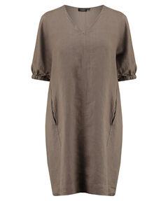Damen Leinen-Kleid