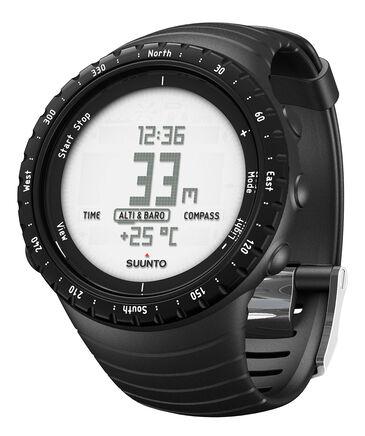 SUUNTO - Multifunktionsuhr / Armbanduhr Core regular black