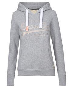 "Damen Sweatshirt ""Vintage Logo Emboss Entry Hood"""