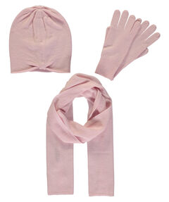 Damen Accessoire-Set aus Mütze, Schal und Handschuhe