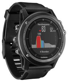 """GPS-Multifunktionsuhr """"Fenix 3 HR"""" Saphir Grau"""