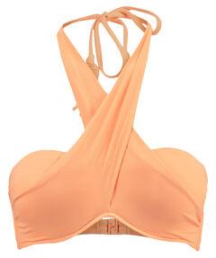 "Damen Bikini Oberteil ""Wrap Front Bandeau Neon Mango"""