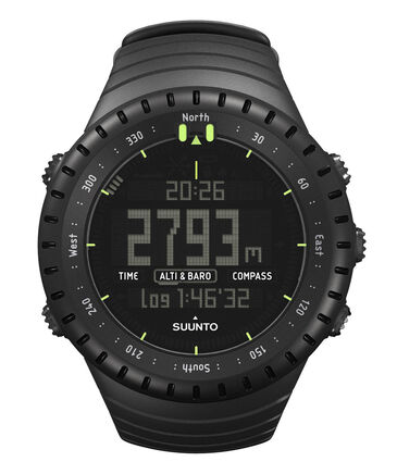 SUUNTO - Multifunktionsuhr / Armbanduhr Core All black - Höhenmesser Kompass Barometer