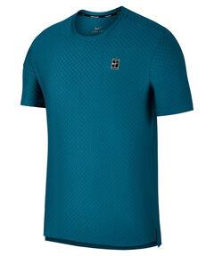 """Herren Tennisshirt """"Top SS Checkered BL"""" Kurzarm"""