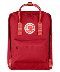 "Tagesrucksack ""Kanken"" deep red/folk pattern"