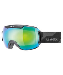 "Ski- und Snowboardbrille ""Downhill 2000 FM black mat dl / ltm green"""