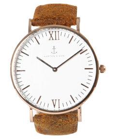 """Damen Armbanduhr """"Campus Brown Vintage"""""""