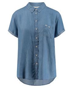 "Damen Hemdbluse ""s/s Shirt Delft Blue"" Kurzarm"