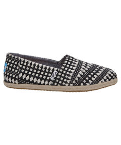 "Damen Espadrilles ""Black Diamond"""