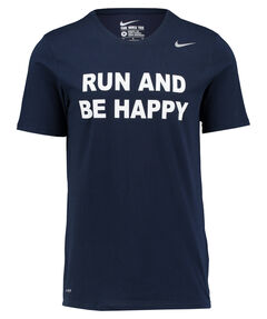 """Herren T-Shirt """"Run and be happy, Dri-FIT Version 2.0"""""""