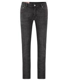 "Herren Jeans ""North Used Blk"" Slim Fit"