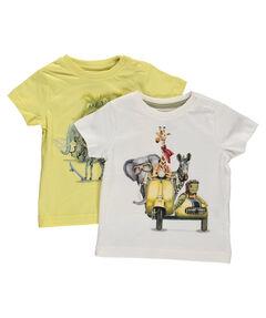 Jungen Baby T-Shirt 2er-Set