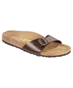 "Damen Zehensandalen ""Madrid Birko-Flor""-Graceful Toffee"