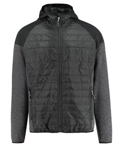 "Herren Fleecejacke ""Man Fix Hood Hybrid Jacket"""