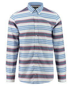 "Herren Hemd ""Horizontal Stripe Oxford"" Regular Fit Langarm"