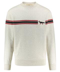 """Herren Sweatshirt """"Striped Fox"""""""