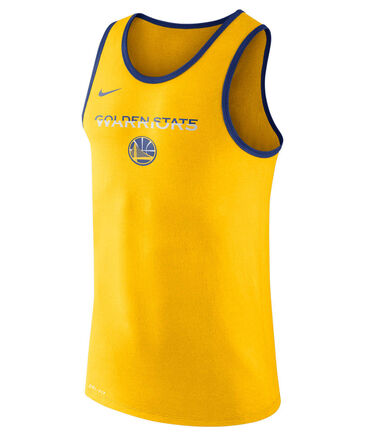 "Nike - Herren Basketballshirt / Trainingstank ""Golden State Warriors Dry Tank ES Logo"""