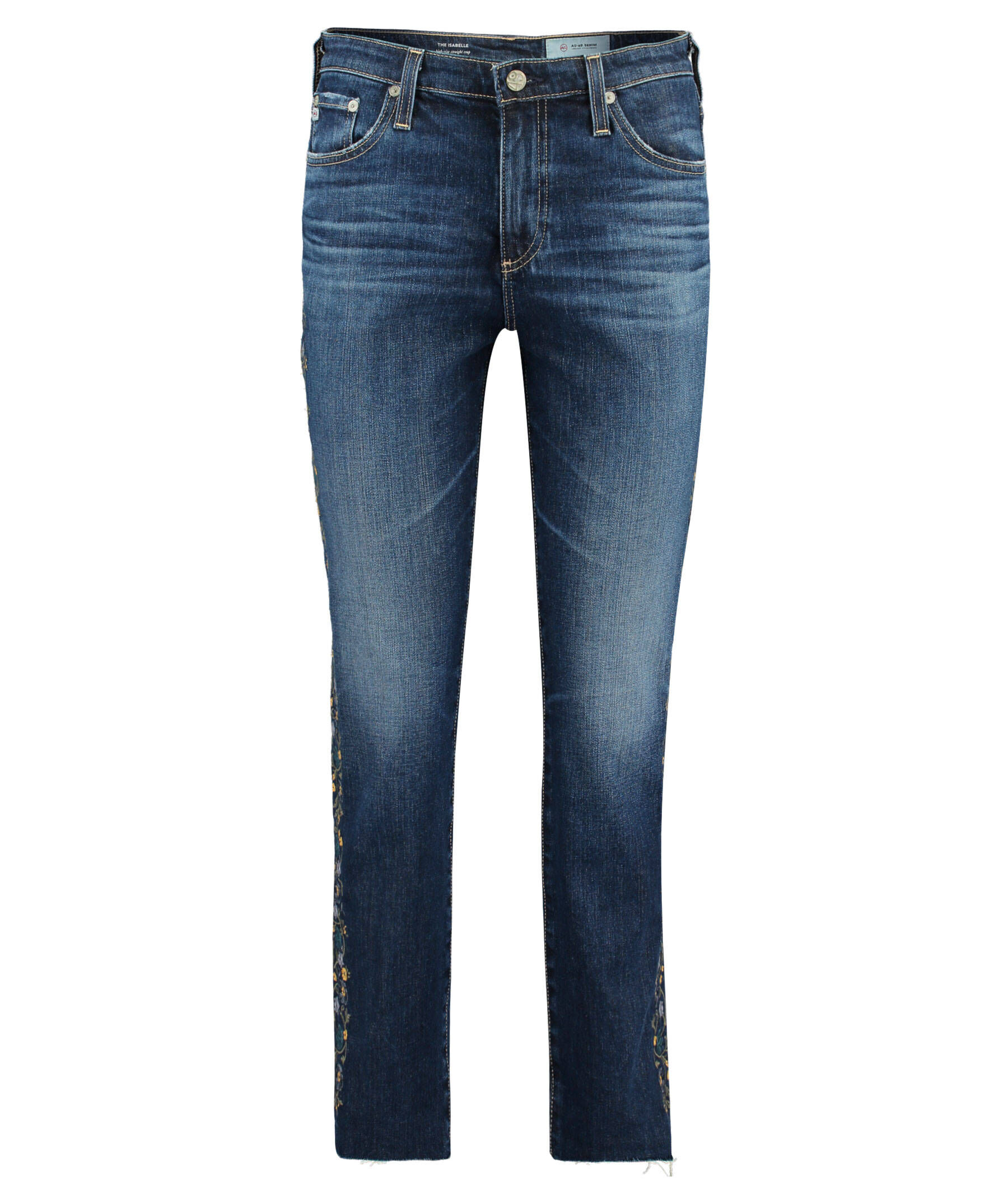 The Jodi 7/8-Jeans High-Rise Slim Flare Crop (Blau) - Damen (25;26;27) AG - Adriano Goldschmied meCS17D2