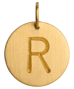 "Damen Anhänger ""Letter R"""
