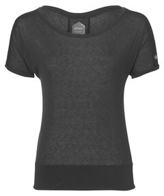 "Damen Laufsshirt ""Crop Top"" Kurzarm"
