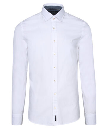 Marc O'Polo - Herren Hemd Slim Fit Langarm
