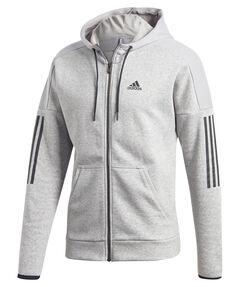 """Herren Sweatjacke """"Sport ID Logo Fleece Full-Zip Hoodie French Terry"""""""