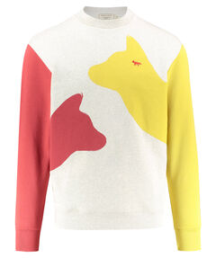 """Herren Sweatshirt """"Meeting Foxes"""""""
