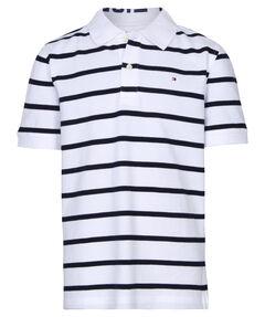 "Jungen Poloshirt ""Ame Yarn Dye Stripe"" Kurzarm"