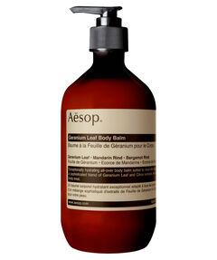 "entspr. 160 Euro / 1 Liter - Inhalt: 500 ml Körperbalsam ""Geranium Leaf Body Balm"""