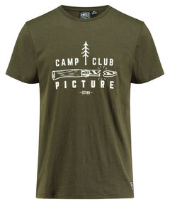 "Herren Shirt ""Camp Club"" Kurzarm"