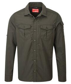 "Herren Funktionshemd / Outdoor-Hemd ""NosiLife Adventure LS Shirt"" mit Insektenschutz"