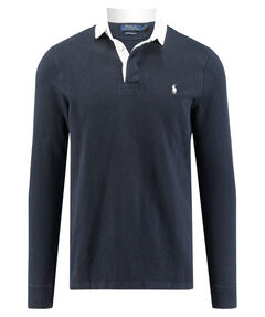 Herren Rugbyshirt Custom Slim Fit Langarm