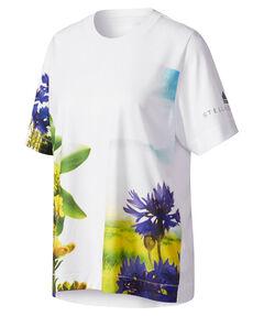 "Damen Laufshirt ""Essentials Nature Print Tee"" Kurzarm"