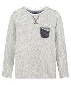 """Jungen Sweatshirt """"BSW Message Round"""""""