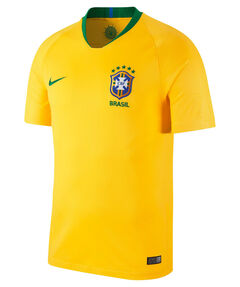 """Herren Fußballtrikot """"Brasil CBF Stadium Home"""" WM 2018"""