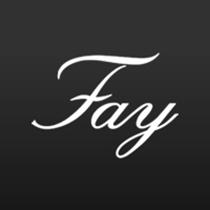 Fay mantel schwarz