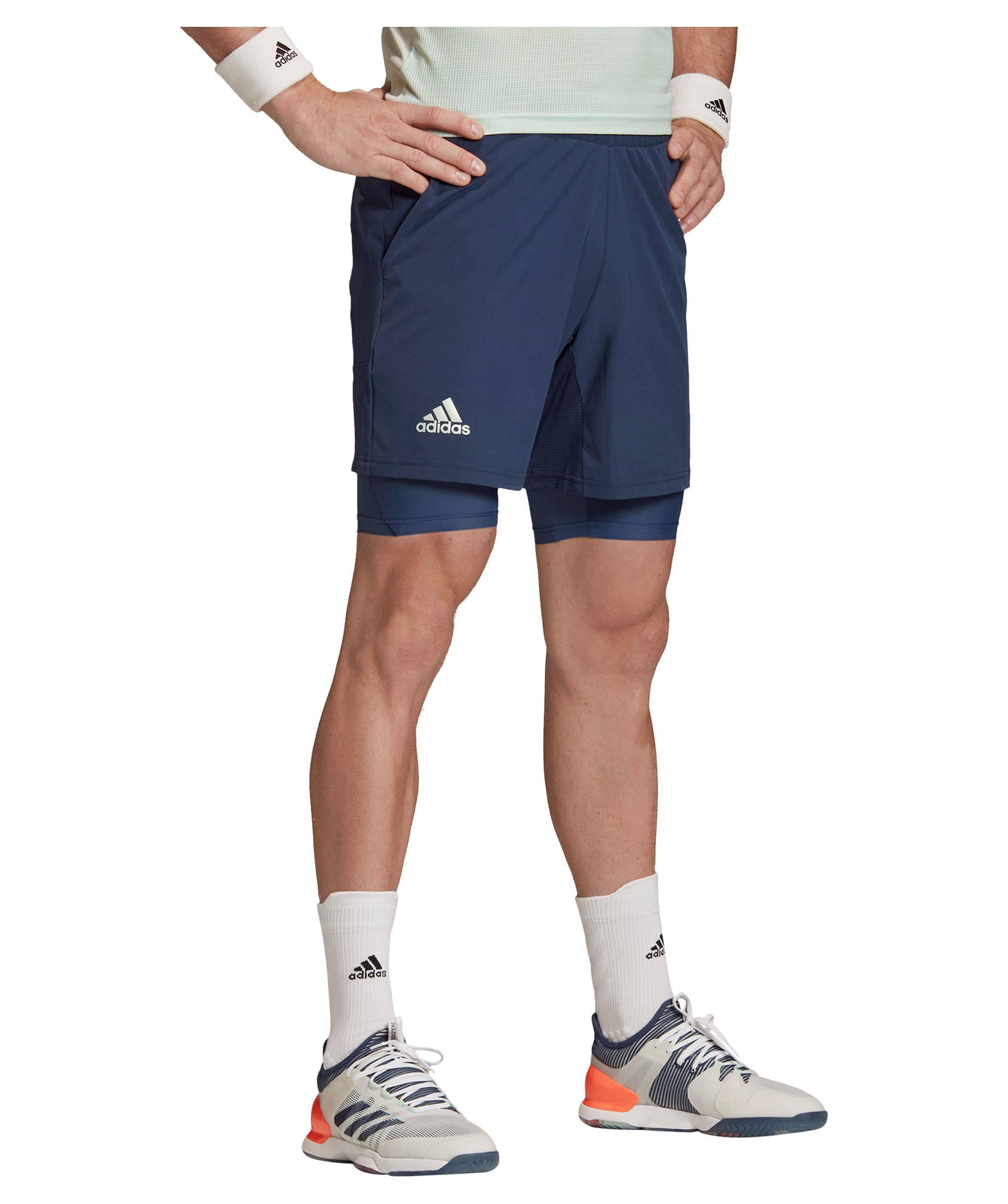 2 in 1 short herren adidas