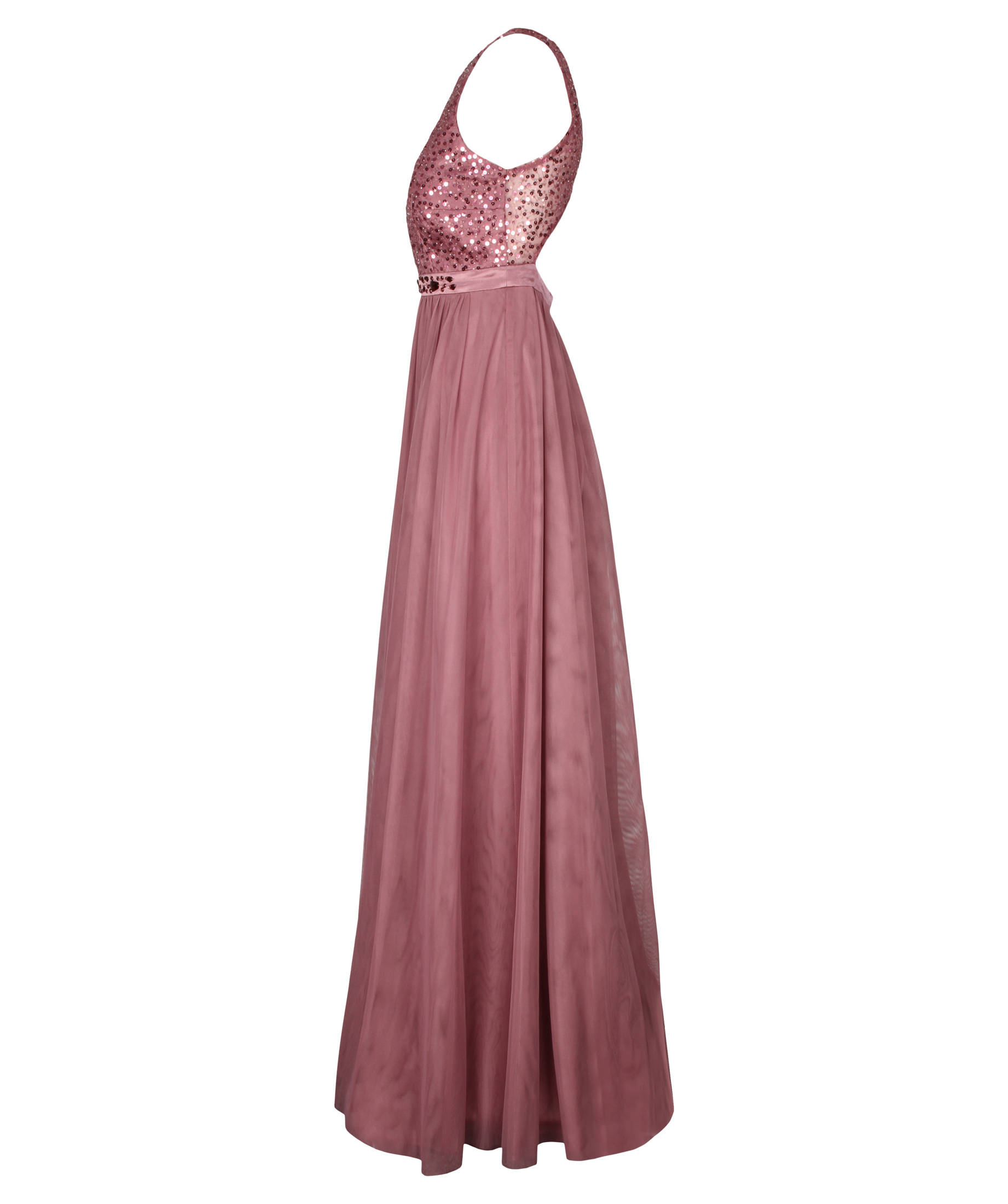VM Vera Mont Damen Abendkleid Ärmellos