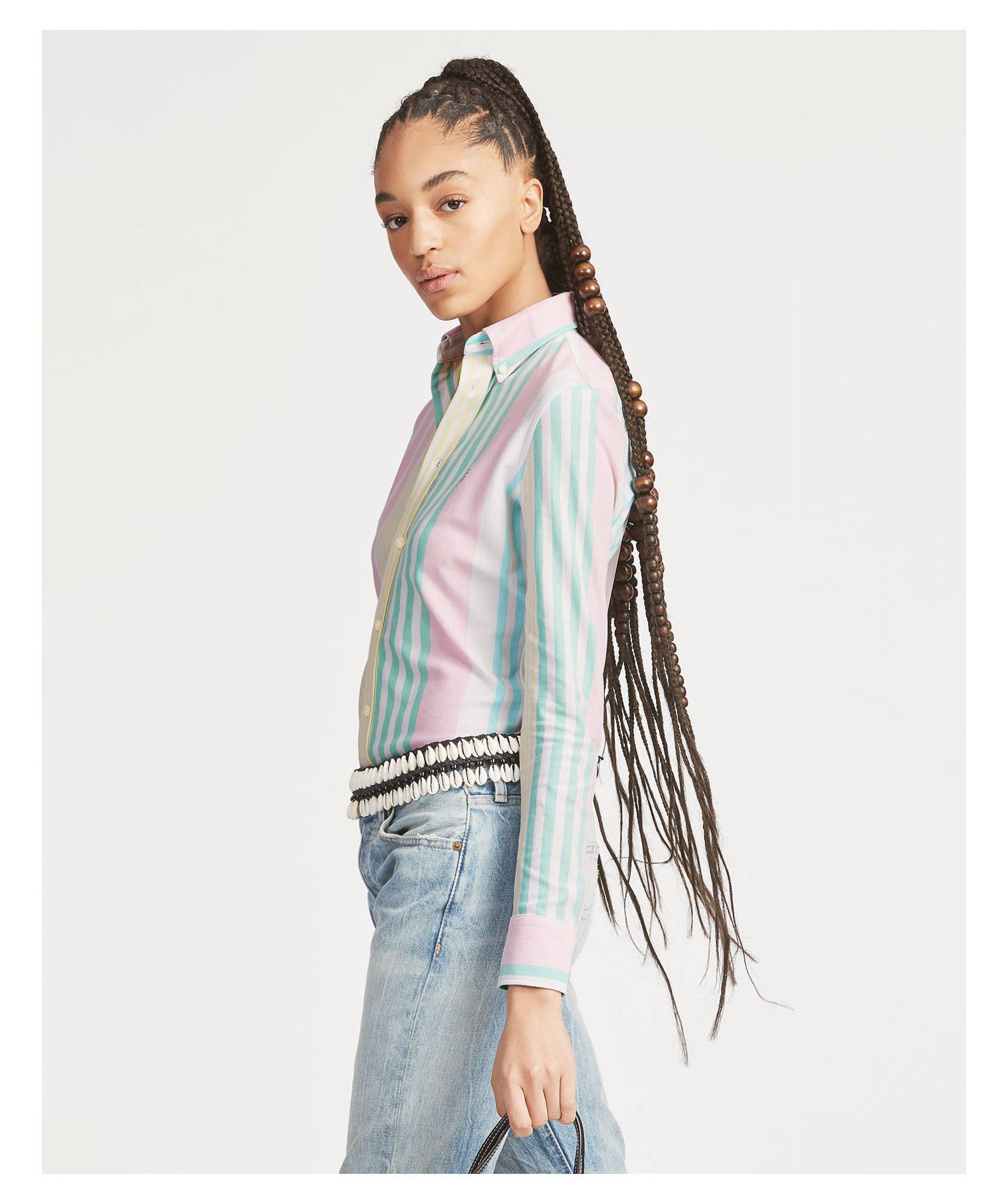 sale retailer 46141 dfc03 Damen Bluse Langarm Slim Fit