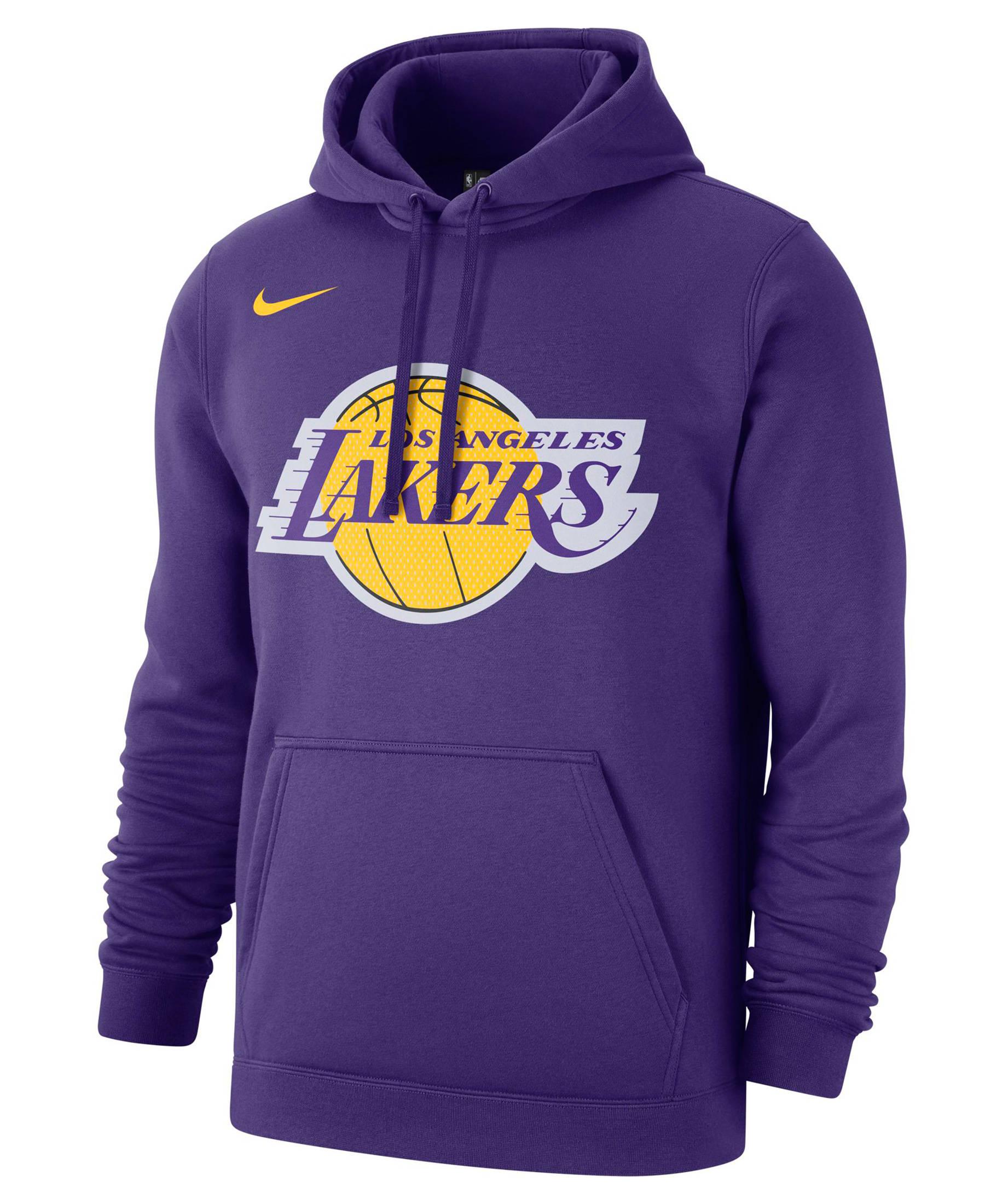 Nike Herren Sweatshirt Los Angeles Lakers NBA