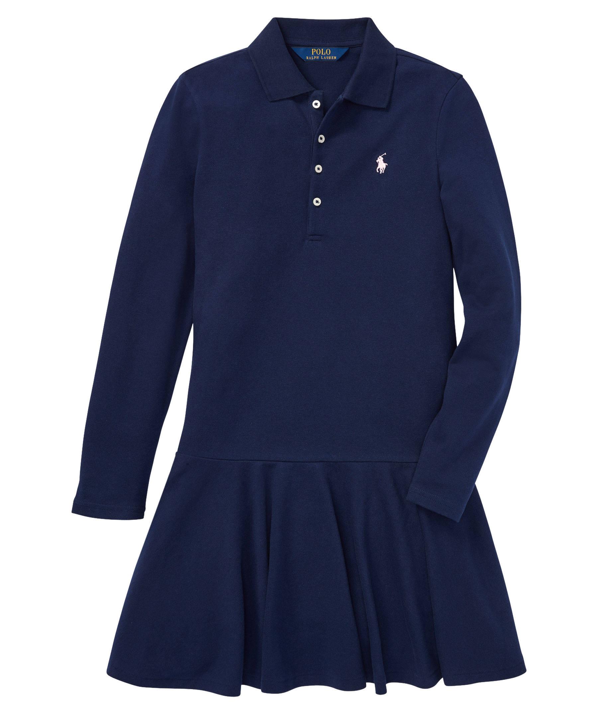 Polo Ralph Lauren Kids Mädchen Kleid Langarm   engelhorn