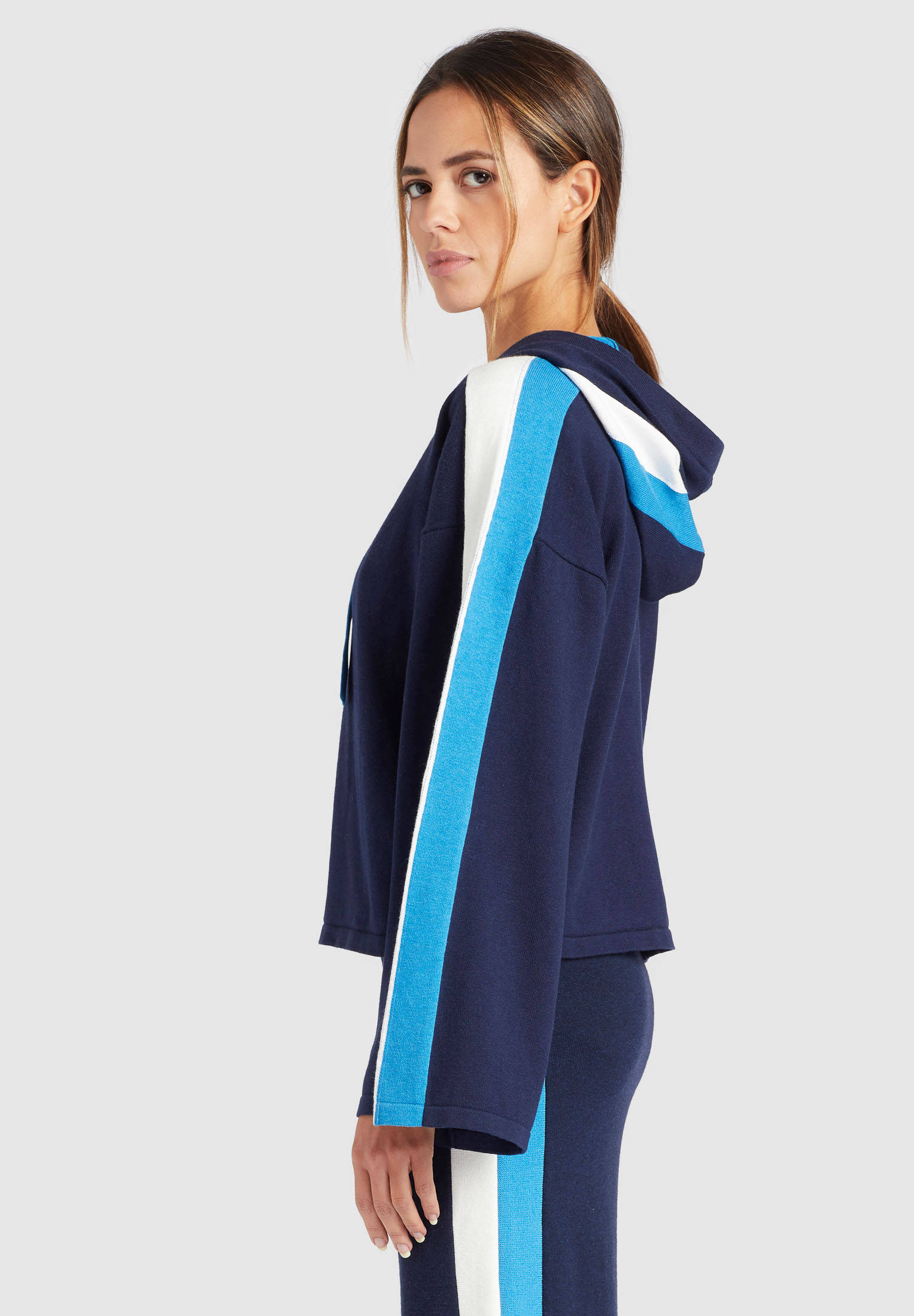 Khujo Damen Pullover Viola ; 1098KN153-210 GREY